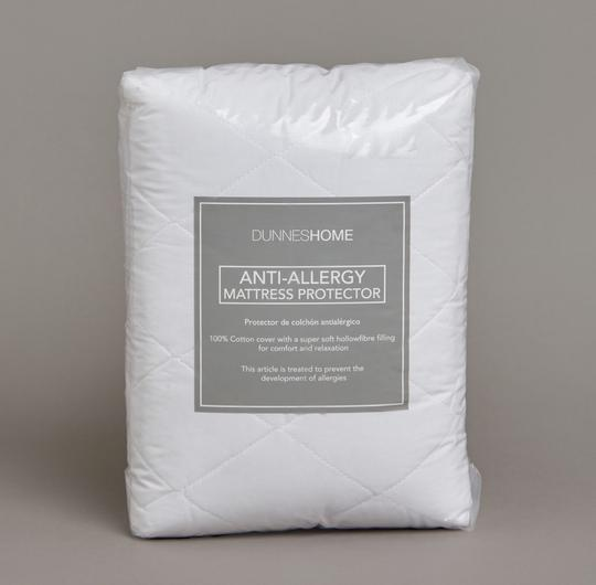Anti-allergy mattress protector (from €10, Dunnes Stores)
