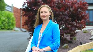 Anne Nally-Keenan pictured at her home in Co Westmeath. Photo: Kevin Mc Nulty