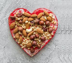 Nuts have many health benefits and provide satiety, reducing the need for other, less healthy, snacks