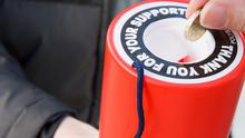 The website Goodcharity.ie gives advice on what to look out for when supporting an organisation.