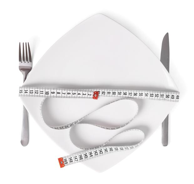 Smaller plate can help control portion sizes