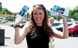 Emma Kiernan, whose 'Boob-gate' photo came to the attention of a local newspaper while running for her town council