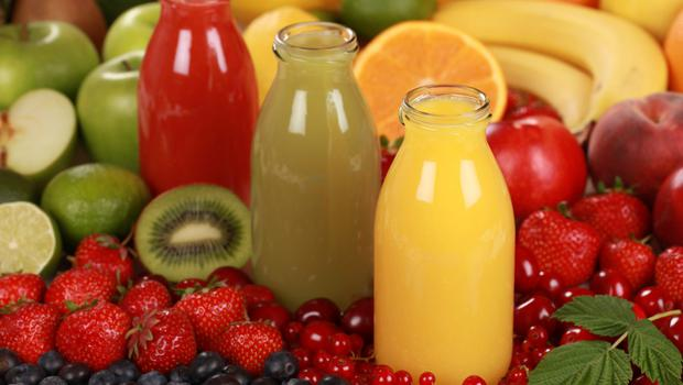 Fruit juices can be high in sugar.