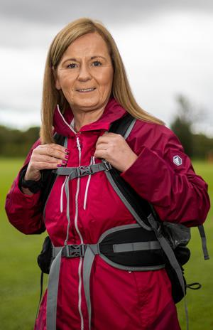 Suzanne Fitzgerald, who took up hiking during the Covid-19 pandemic. Photo: Mark Condren.