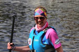 Deboarah Bonner set up a dragon boat racing club in Donegal