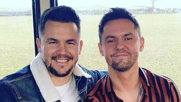 The stem cells of Strabane brothers Conor and Paul Carlin are compatible, meaning Paul can now undergo a transplant in a bid to beat his cancer