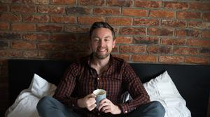 Donal Lynch has embraced his own home-brewed coffees. Photo: Mark Condren