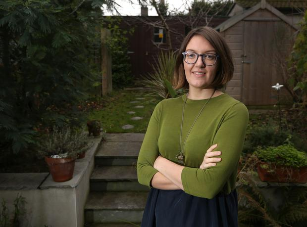 Knock-on-effect: Grainne Clear (28) says no one should be surprised by young Irish women delaying parenting. Photo: Damien Eagers