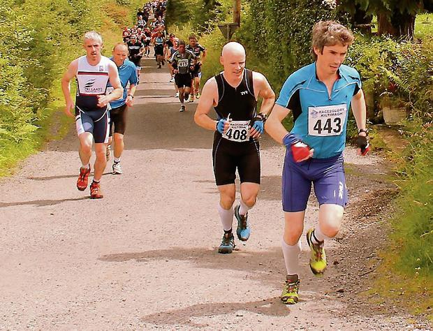Tough: Competitors on the Race2Glory course