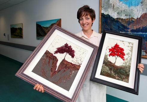 Malahide-based painter and sculptor Sheelagh McShane. Picture: Ronan Lang