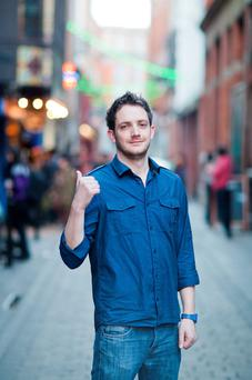Comedian Danny O'Brien runs a weekly comedy club, The Comedy Crunch, in Dublin