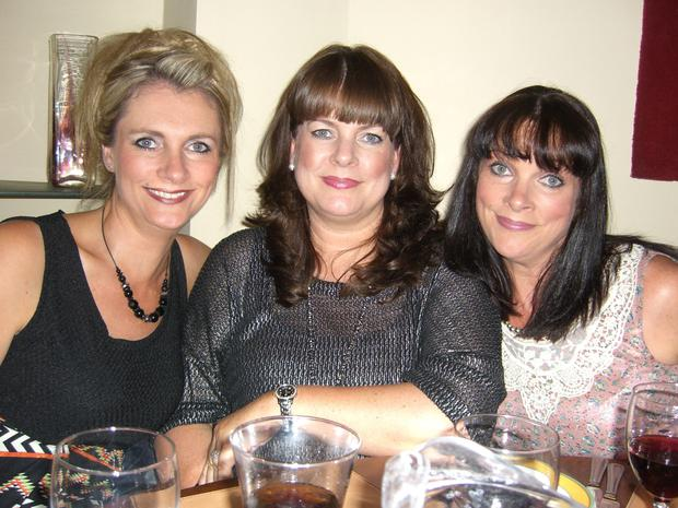 From left: Louise Keville, Mary McCarthy and Eileen O'Molloy