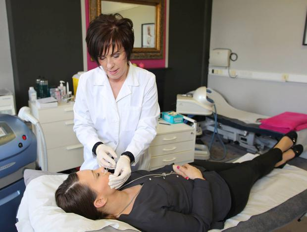 Saving face: Ita McCarthy at the Otto Clinic