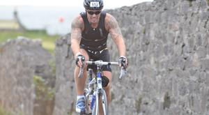 Keith Duffy - one of the attractions of cycling is the room for recovery between hills and testing stretches