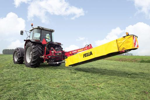 Cutting Edge: Fella - one of those to launch new mowers ahead of the silage cutting season