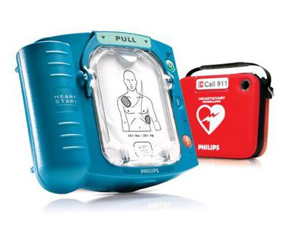 Red Cross are checking defibrillators