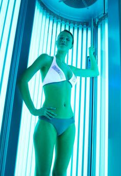 Crackdown: on use of sunbeds
