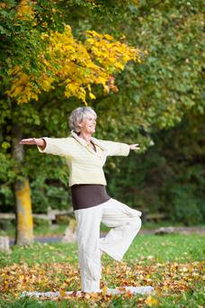 Exercise can improve balance skills