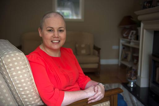 Web therapy: Ciara Brickley documents her cancer story on her blog foodfashionandthefight.ie. Photo: Michael MacSweeney.