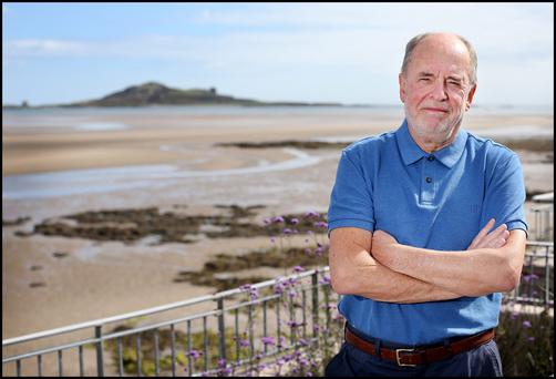 John Spain has been given the all clear from cancer after he was tested and diagnosed under the HSE's free National Bowel Screening Programme. Photo: Steve Humphreys.