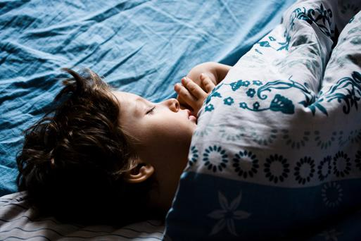 Getting enough sleep is as important as exercise and diet for a child