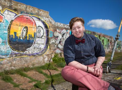 You can go your own way: Kay Cairns (23) identifies as gender non-binary. Photo: Fergal Philips.