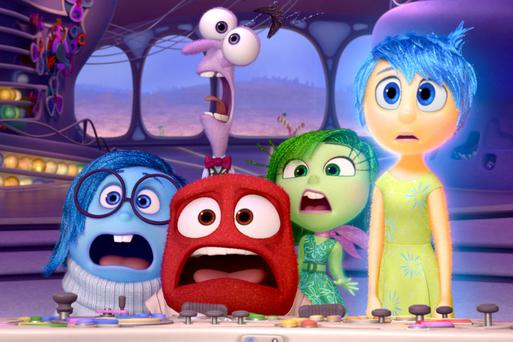'It was the first clear statement that we shouldn't shy away from our emotions but embrace them. I was really struck by that'. Professor Keltner on the Pixar movie, Inside Out.