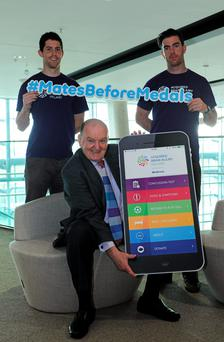 George Hook launches the app