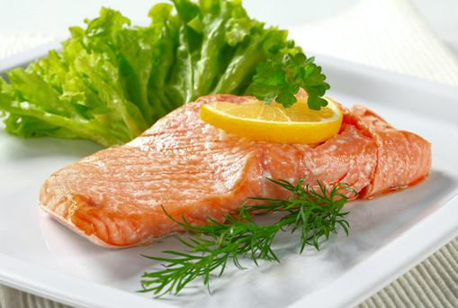 Oily fish such as salmon, mackerel and sardines are good sources of Omega-3