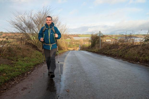 John MacPhee uses the beats medical app on his daily walks. Photo: Alan Richardson.