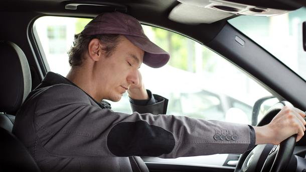 Tired drivers are a danger on the road.