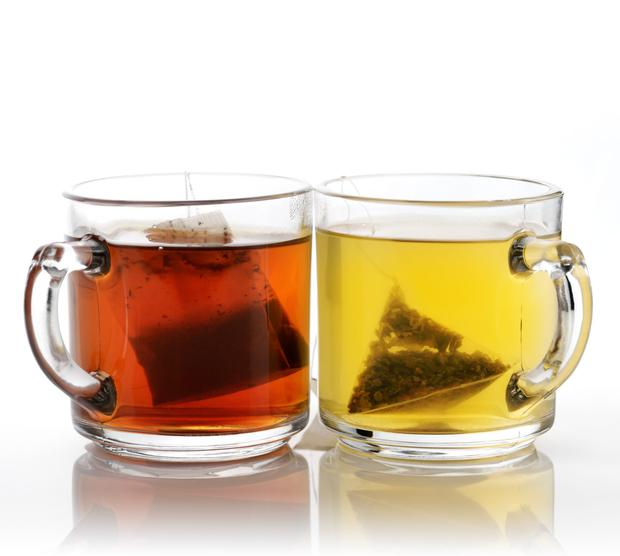 Warming teas support the immune system.