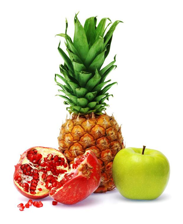 Fruit contains healthy digestive enzymes.