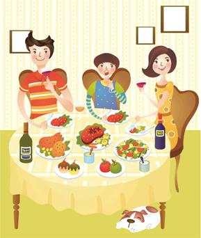 Make the most of the time you eat together
