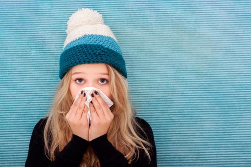 Children tend to get more colds than adults