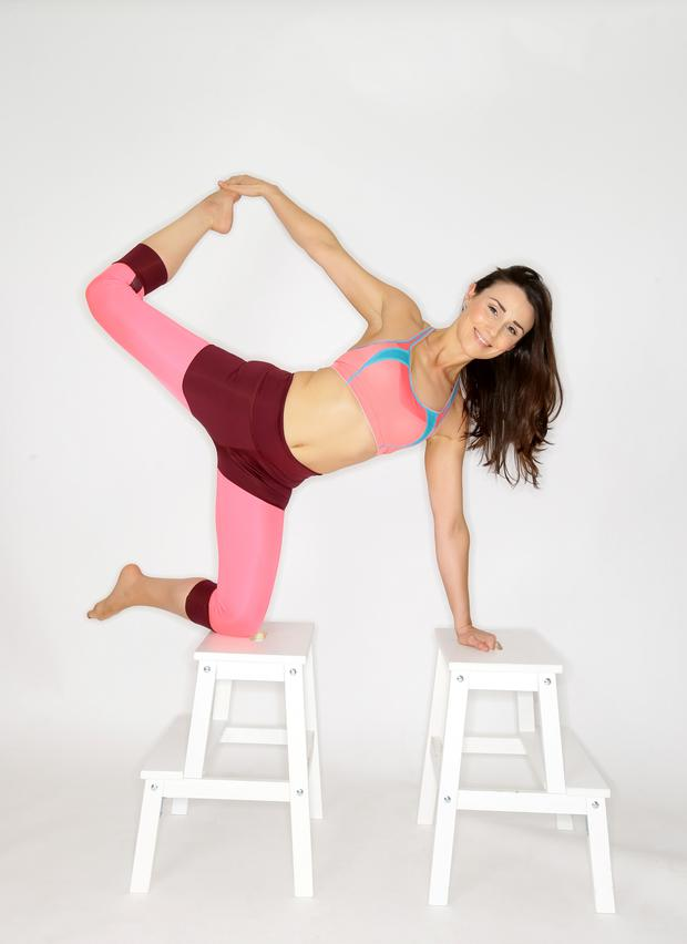 Lee Tracey's yoga journey has been a personal and professional evolution. Photo: Marc O'Sullivan.
