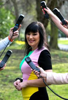 Meterologist Jean Byrne launched a new freephone number for the AWARE support line - 1800 80 48 48, seven days a week from 10 am to 10 pm.
