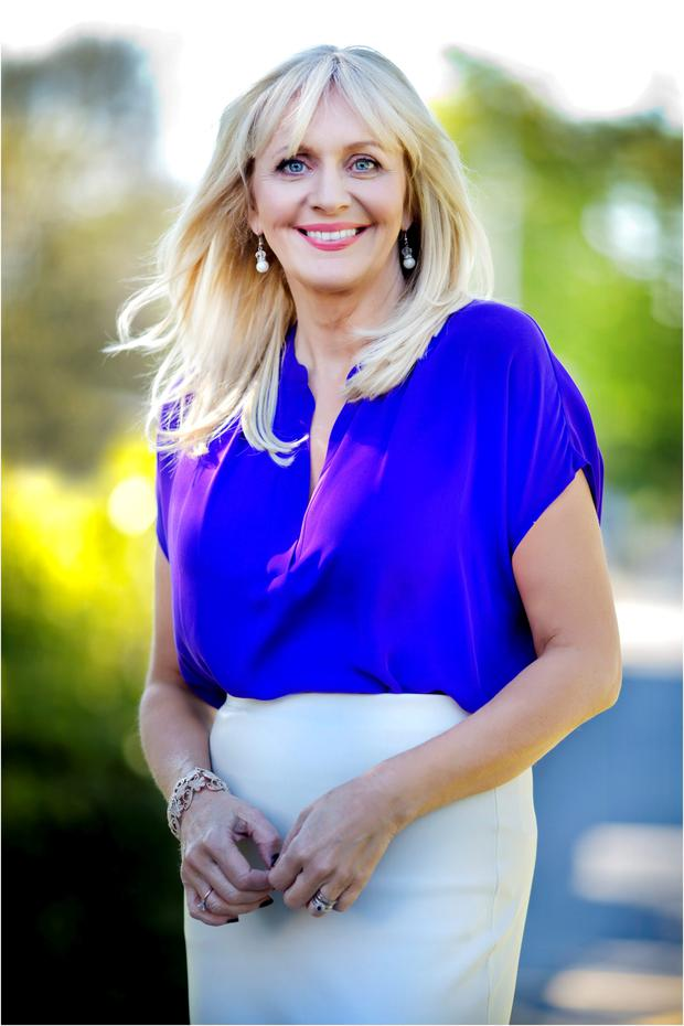 Broadcaster Miriam O'Callaghan. Photo: David Conachy.