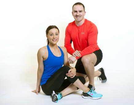 Sophie Kavanagh and John Belton from No 17 Personal Training