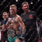 Conor McGregor and John Kavanagh