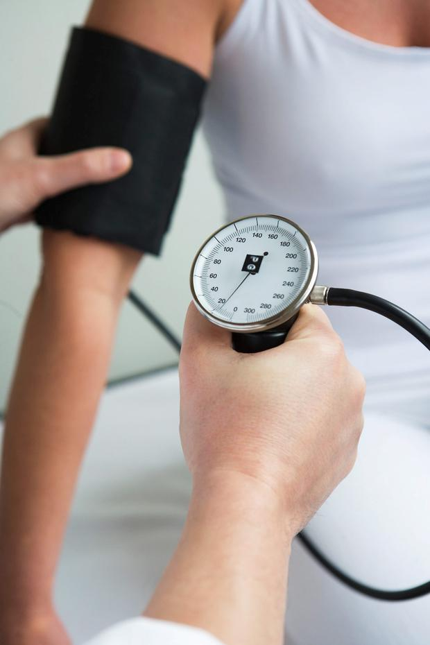 It's important to keep an eye on blood pressure
