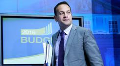 Health Minister Leo Varadkar. Photo: Frank Mc Grath