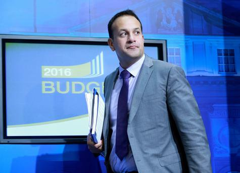 Social Protection Minister Leo Varadkar. Photo: Frank Mc Grath