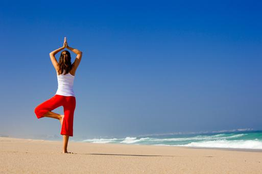 'Finding our inner calm can help us to feel less stressed'.