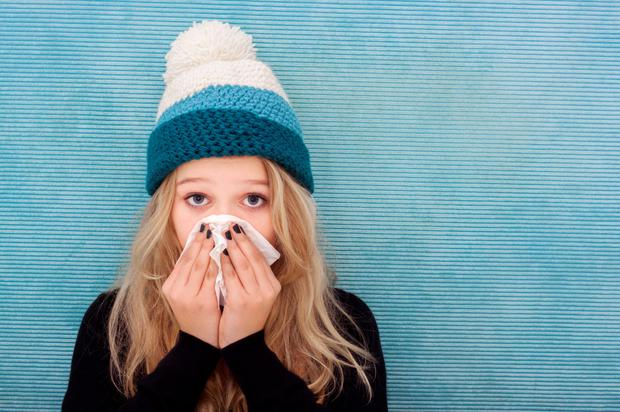The number of cases of flu has doubled in Ireland throughout the Christmas period