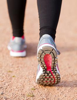 A brisk walk for 25 minutes halves the risk of death.