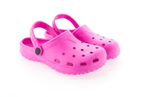 Crocs - don't wear them for 8 - 10 hours per day.