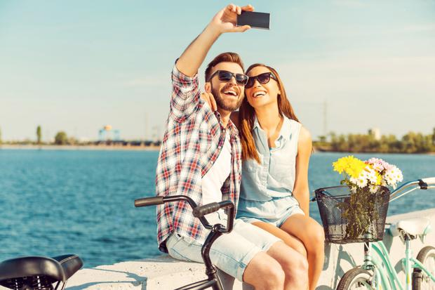 Endless happy shots shared on social media add strain to a relationship