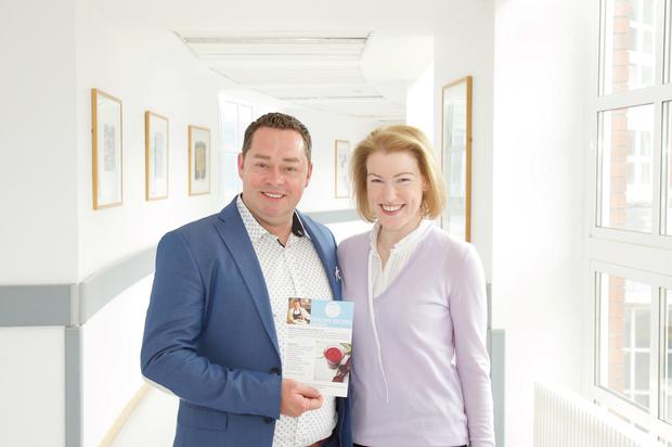 Neven Maguire with Ann Marie Richards, who battled lung cancer