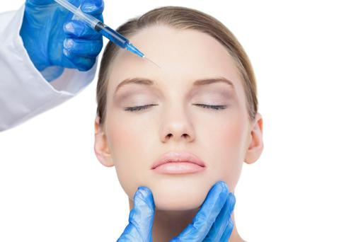 Some women go looking for a cosmetic surgeon, some start a saintly living regime and some just get on with life. I don't know if it's better to ignore wrinkles or try to fight them (Stock picture)
